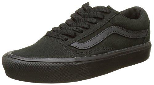 Vans Unisex-Erwachsene Ua Old Skool Lite Sneakers, Schwarz (Canvas Black/Black), 42.5 EU