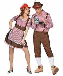 Costume tyrolien, robe et un chemisier, Taille 42
