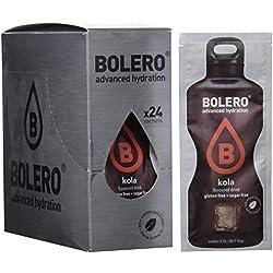 Paquete de 24 sobres bebida Bolero sabor Kola