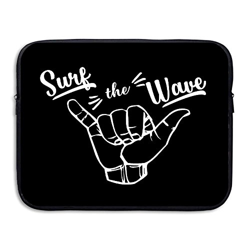 ZMviseSurfing Girl Hawaii die schlanke, gepolsterte Laptop weicher neopren - ärmel Tasche Fall Decken für Notebook - Computer ipad - Tablet