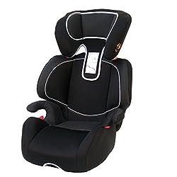 Hochwertiger Kindersitz Michelangelo LUXUS schwarz Gr. 2+3 15-36kg E4 ECE R44/04