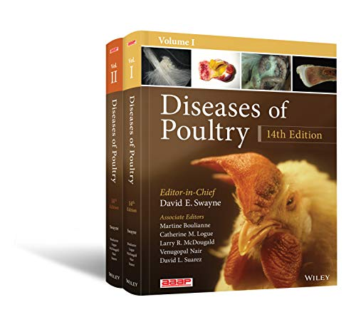 Diseases of Poultry: 2 Volume Set