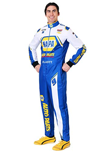 NASCAR Chase Elliott Men's Uniform Fancy Dress Costume ()