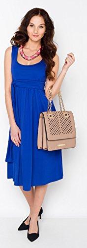 Milchshake - Basic Umstands- und Stillkleid - Verano - versch. Farben Kobaltblau
