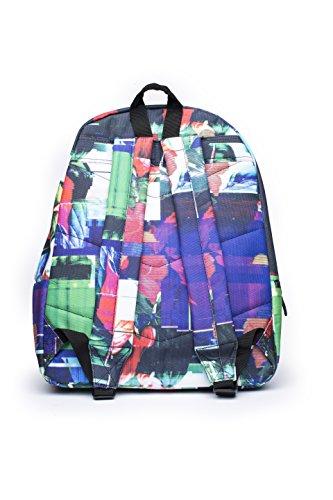 Hype Rucksack - Backpack Bag - Damen - Kinder - Verschiedene Designs Glitch Flowers