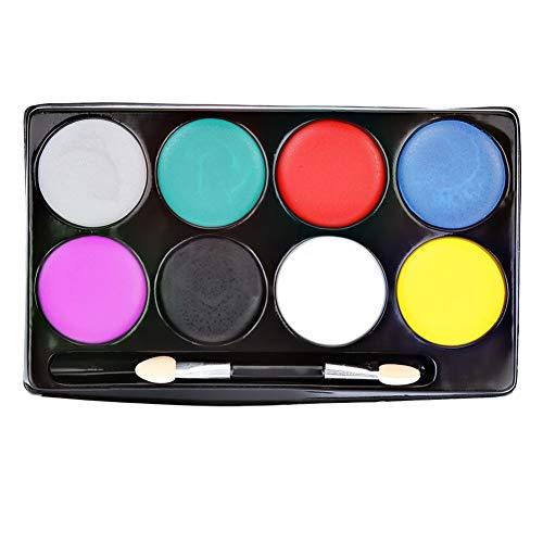 r Malerei Pigment Gesicht Malerei Pigment Zeichnung Pigment Party 8 Farben Ungiftig ()