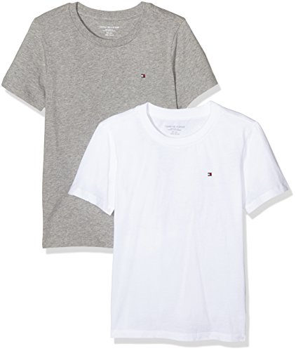 tommy-hilfiger-jungen-t-shirt-cotton-cn-tee-ss-icon-2-pack-2-mehrfarbig-white-grey-heather-101-110-h