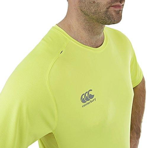 VapoDri T-shirt sportiva da uomo super leggera Safety Yellow