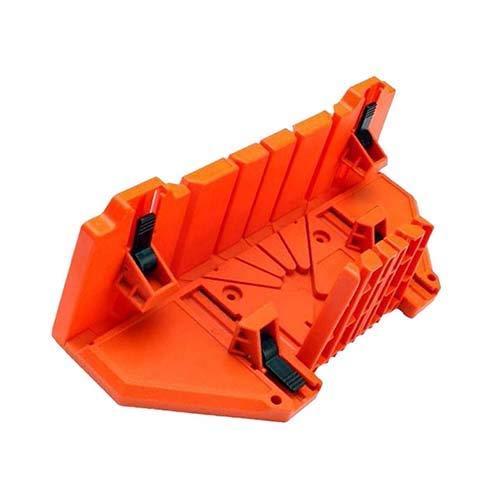 Multifunktionaler Säge Kasten Schrank 0/22,5/45/90 Grad Säge Führung Orange 14Inch Mit Klemm Winkel-Schneidwerkzeug-Sets