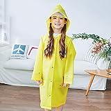 Regenmäntel Kinder Jungen Und Mädchen Mit Schultaschen Mode Wasserdicht Poncho Kindergarten Baby Regenbekleidung Flut (Farbe: D-M)