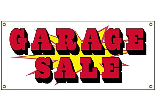 Garage Verkauf Banner Handel Home Shop Business sich, 91,4cm von 38,1cm Yard Kombi Verkauf