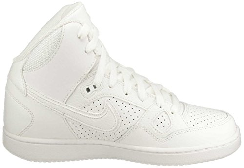 Nike Wmns Son Of Force Mid Calzature, Bianco Bianco
