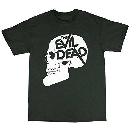 The Evil Dead Inspired T-Shirt 100% Baumwolle Waldgrün