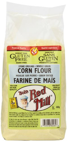 Bob's Red Mill Gluten Free Corn Flour, 680g