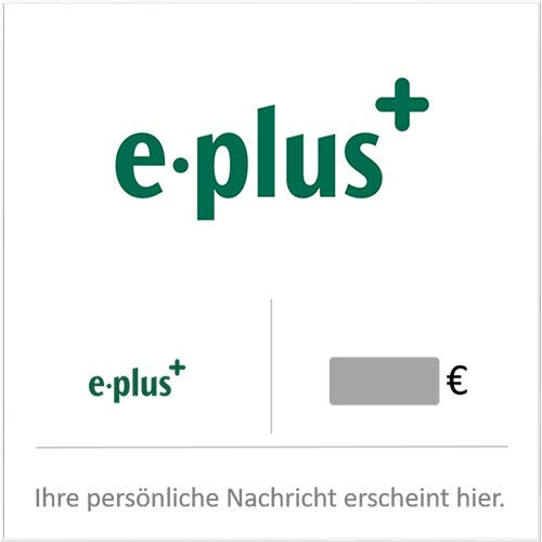 e-plus Prepaid Guthaben Config - für Deutschland - per E-Mail