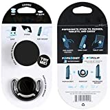 PopSockets For Boys And Girls By Azacus For Your Mobile | Pop Grip Socket & Pop Mount Designer Phone Stand Holder With Car Mount | One Handed Control | Video Chat Stand | Tablet Grip | For Car, Home, Office | Stylish Black Colour | Stylish White Colou