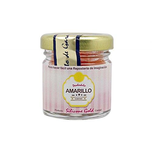 """'Colorant Alimentaire en poudre jaune """"decolordulce-Pâtisserie-Silicone Gold-20gr"""
