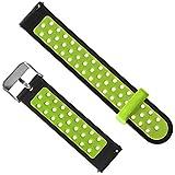 Altsommer für Xiaomi Huami AMAZFIT 2 / 2S ,Silikon Sportarmband Uhrenarmband Uhr Erstatzband Wrist Band Health & Fitness Smartwatch, Armbandlänge 145-230mm (Grün)