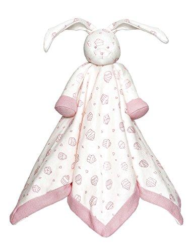 Teddykompaniet Bio Cupcakes Kaninchen pink 100% BIO Baumwolle Bio-cupcake