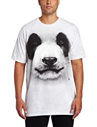 The Mountain Unisexe Adulte Tete De Panda T Shirt