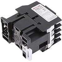 Gazechimp 1pc CJX2-1210 660V 3 Fase 3P AC Contactor DIN Rail Montaje 220V Bobina Herramienta Eléctrica