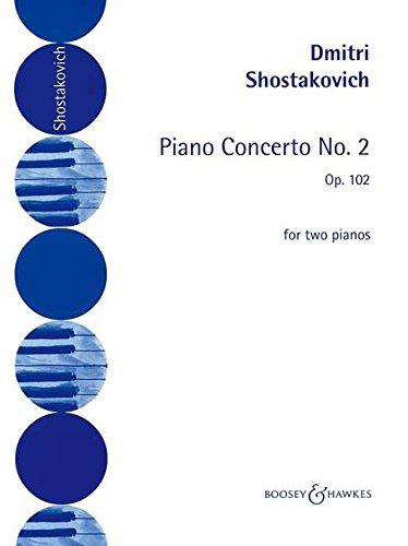 Piano Concerto No. 2: op. 102. Klavier und Orchester. Klavierauszug für 2 Klaviere.