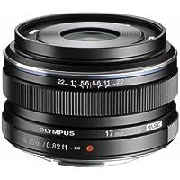 Olympus M.ZUIKO DIGITAL 17mm 1:1.8 Lens - Black