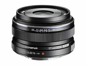 Olympus M.Zuiko Digital Objectif 17 mm f1,8 Noir