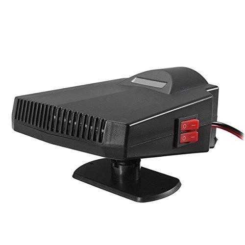 Wooya 12V 250W Autoheizung Lüfter Demister Heizung Lüfter Entfroster Warm Air Gebläse -