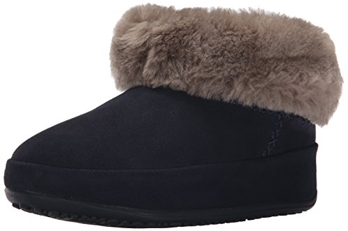 FitFlop Mukluk Shorty, Baskets Hautes Femme Blue (Supernavy)