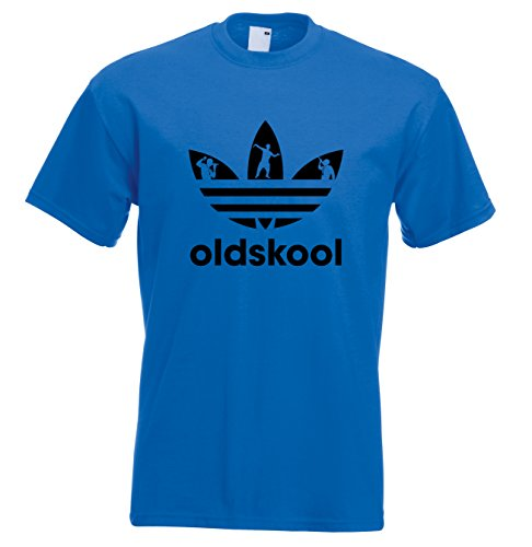 Old Skool adidas style 90s Acid House Rave T-shirt - many colours