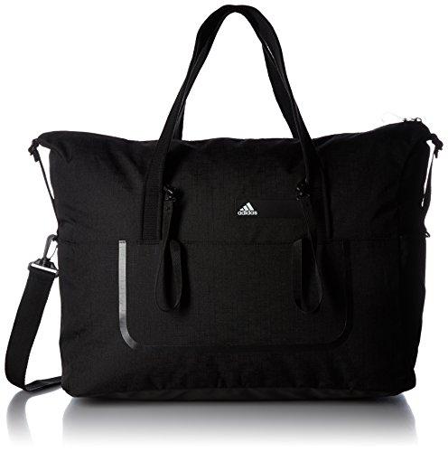 adidas Damen Team Sporttasche, Black/White, 58 x 23 x 41 cm