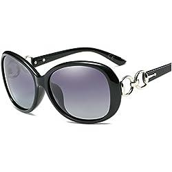 AMZTM Damen Brille Luxus überdimensioniert Polarisiert Trend Mode Frauen Sonnenbrille