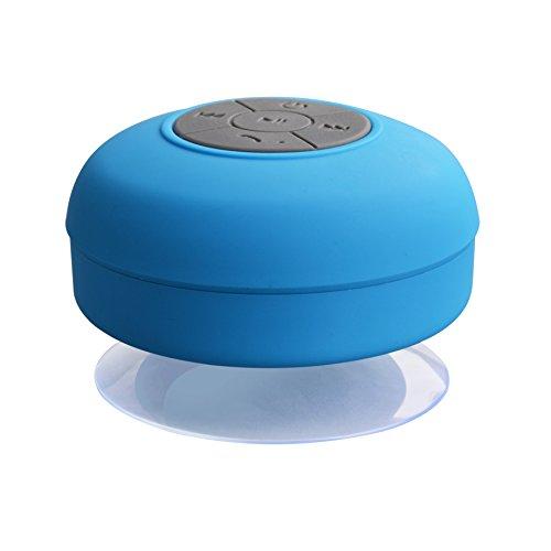 JSGJYX Bluetooth Lautsprecher 1 PSC Bluetooth Lautsprecher Mini Wireless Portable Wasserdicht Dusche Lautsprecher für Handy MP3 Bluetooth Empfänger Hand Frei Auto Lautsprecher BS 001