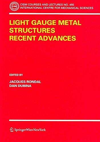 [(Light Gauge Metal Structures Recent Advances)] [Edited by Jacques Rondal ] published on (November, 2005) (Gauge Light Metal)