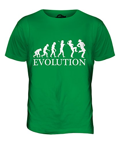 CandyMix Line Dance Evolution Des Menschen Herren T Shirt Grün
