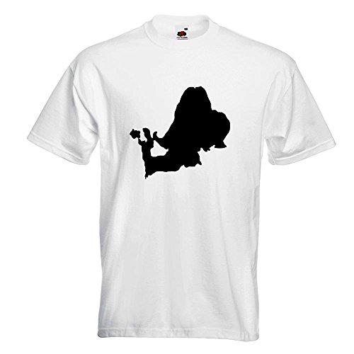 KIWISTAR - Chiemsee - Deutschland - See T-Shirt in 15 verschiedenen Farben - Herren Funshirt bedruckt Design Sprüche Spruch Motive Oberteil Baumwolle Print Größe S M L XL XXL Weiß