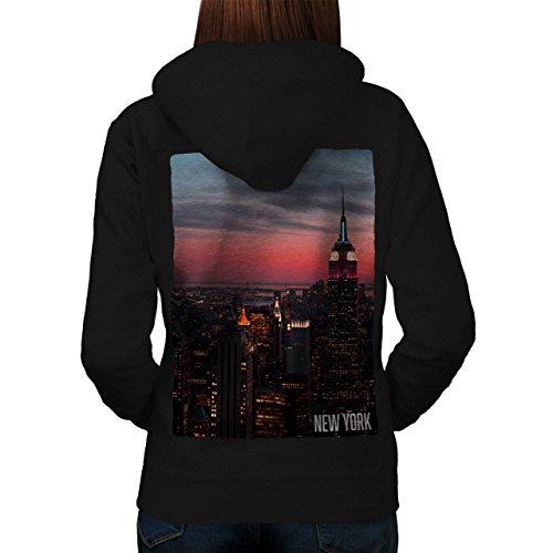 Empire State Building Women M Kapuzenpullover Zurück | Wellcoda