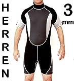 Herren 3mm Neopren Shorty - Neoprenanzug Größe XXL / 56 - 58 - ts-ideen
