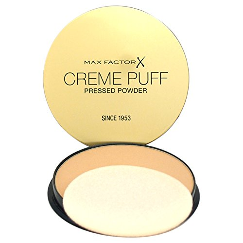 Max Factor creme Puff Foundation, No. 41 Medium beige, 21 gram