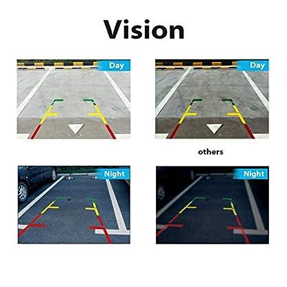 HD-Rckfahrkamera-Rckfahrkamera-Rckfahrkamera-Nachtsicht-Wasserdicht-fr-Toyota-Yaris-2006-bis-2012