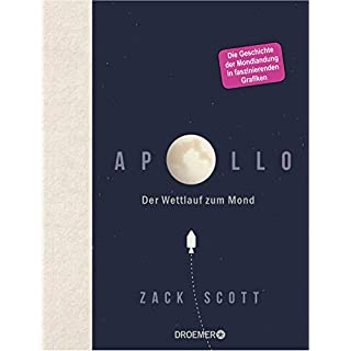 Apollo: Der Wettlauf zum Mond - 50 Jahre Mondlandung in faszinierenden Schaubildern - das perfekte Geschenk für alle Technik- und Raumfahrt-Begeisterten