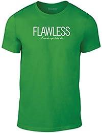 Brand88, Flawless I Woke Up Like Dis, Erwachsene Mode T-Shirt