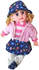 Sajani Soft Baby Doll for Girls Best Birthday Gift (Multi Color)