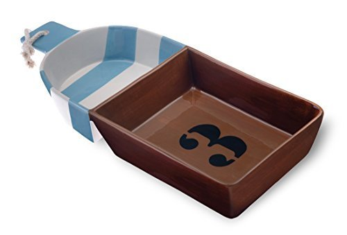boston-international-ahoy-buoy-ceramic-chip-and-dip-divided-tray-brown-by-boston-international
