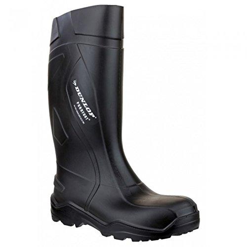 Dunlop , Chaussures de sécurité pour homme Noir noir