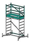 Krause Erweiterung auf 4 m Arbeitshöhe für ClimTec Argeitsgerüst