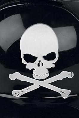Casque du Buveur Skull Casque Buveur noir/blanc