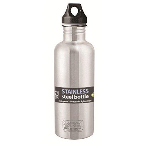 360° Degrees Stainless Drink Bottle 750ml Steel 2019 Trinkflasche