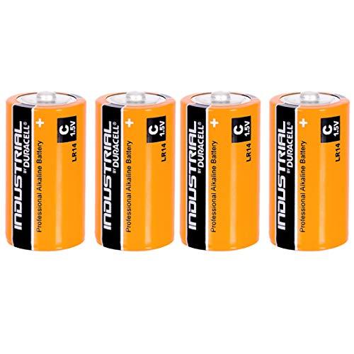 Duracell Industrial Alkaline C / MN1400 / LR14 (paquet 4)